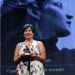 Roberta Bortone Riccarelli ritira il Premio Campiello 2013